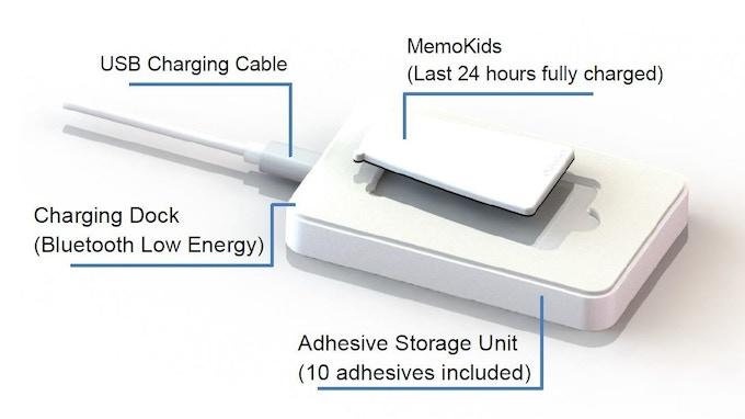 MemoKids charging dock