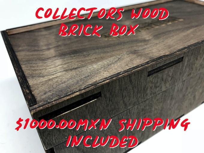 WOOD BRICK BOX