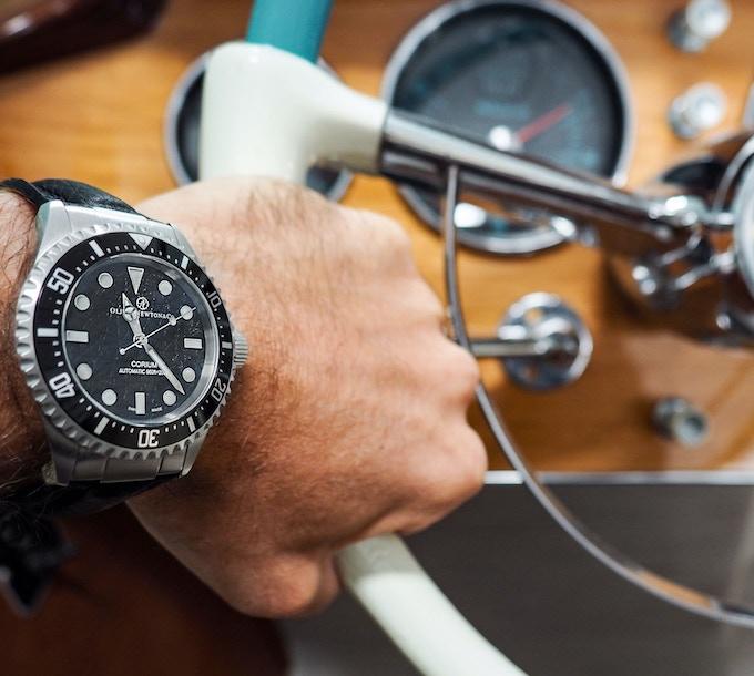 Oliver Newton Watches - Corium Black