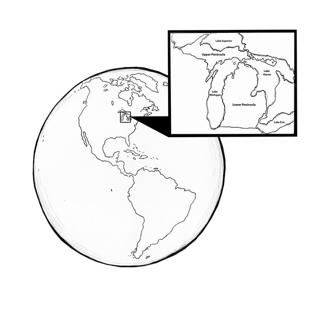 Where In The World Is Michigan