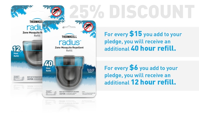 Radius - Keep Mosquitoes Away Without Spray! by Thermacell