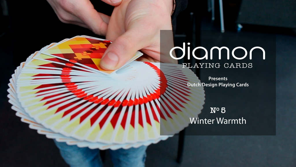 Diamon Playing Cards N° 5 Winter Warmth project video thumbnail