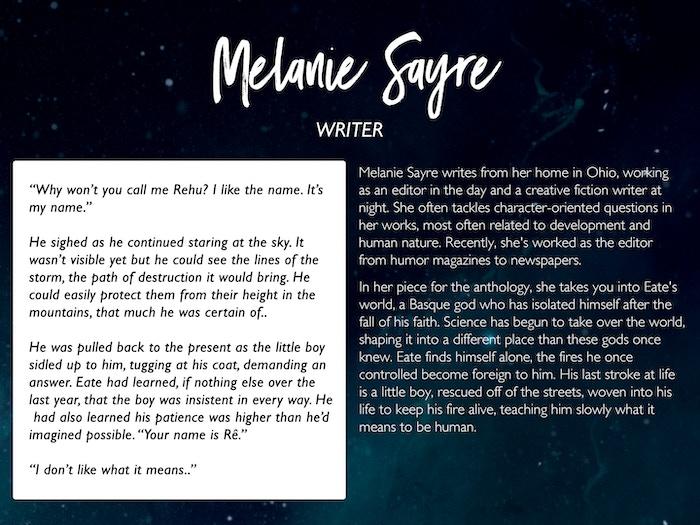 Melanie Sayre: melsayre.com