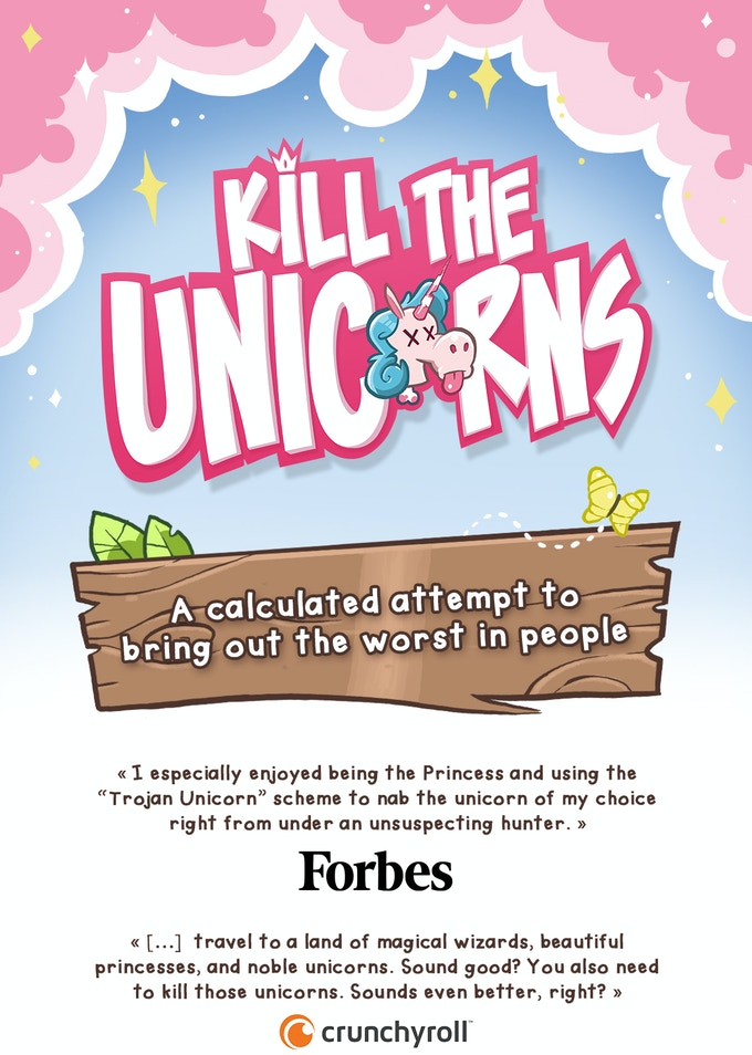 Kill the Unicorns - An Enchanted Card Game For Evil Geniuses