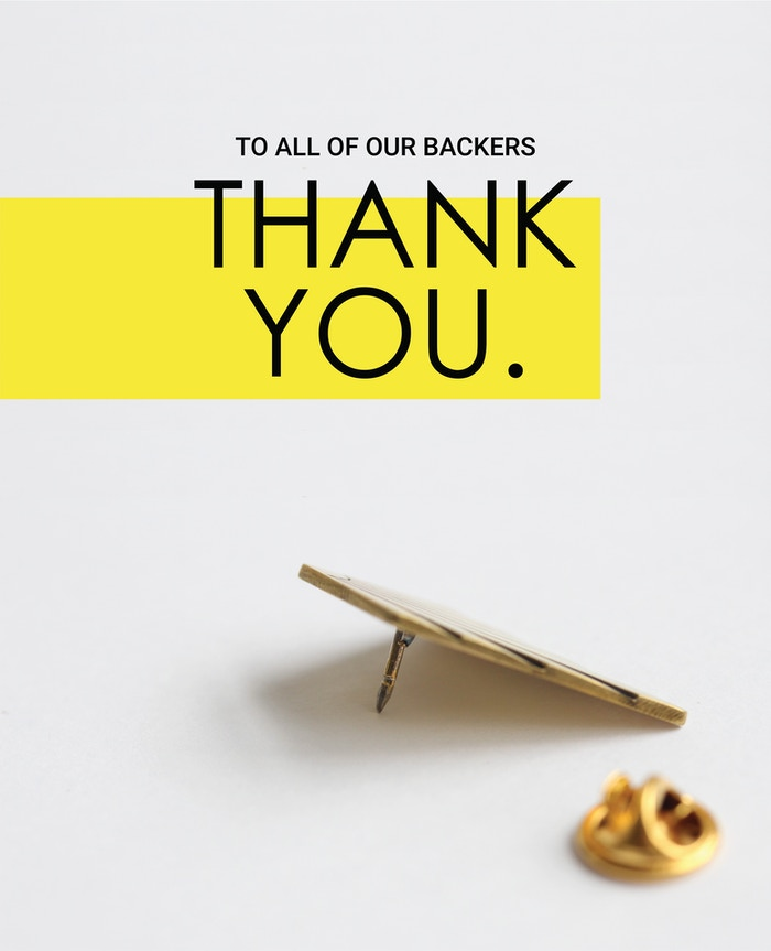 Thank you for helping The Pin Project soar to unimaginable heights. We will keep you updated on every step of the process. Visit our Indiegogo page where we are continuing our movement.