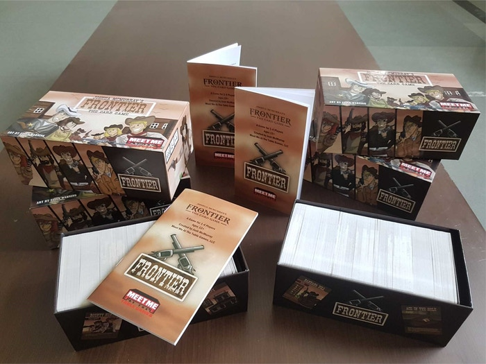 Become the greatest outlaw that ever lived with this awesomely Western card game by collecting notoriety and bounty! Yee-haw!