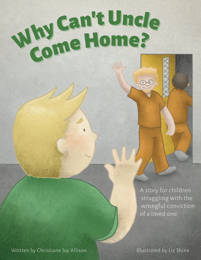 A story for children struggling with the wrongful conviction of a loved one.