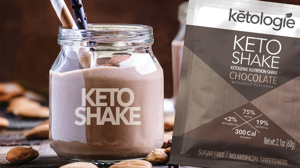 Ketologie: High Fat, Low Carb & Ultra-Yummy Keto Shakes! project video thumbnail