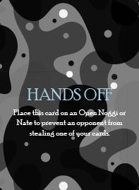 Hands Off Card