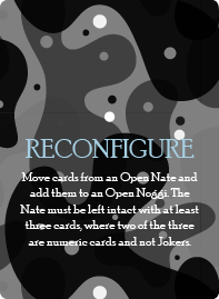 Reconfigure Card