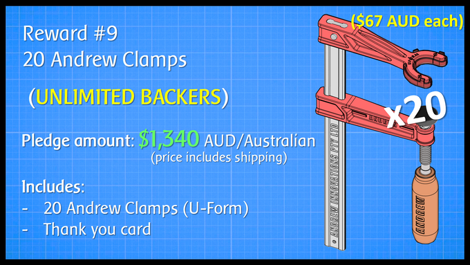 20 Andrew Clamps