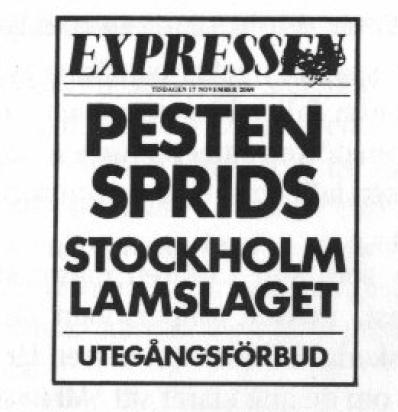Expressen den 17 november 2064