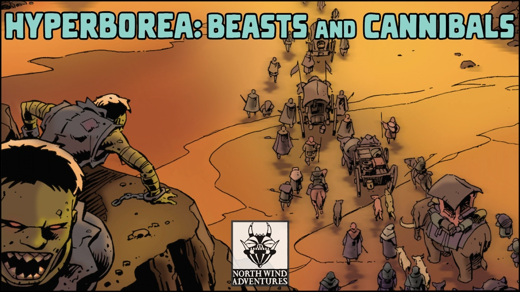 HYPERBOREA: Beasts and Cannibals project video thumbnail