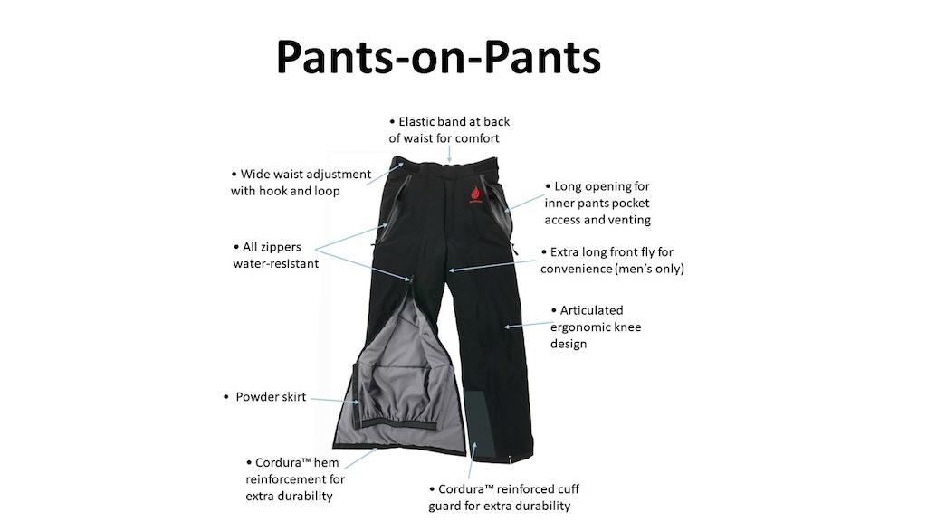 Pants-on-Pants | World's Only Convenient Snow Pants