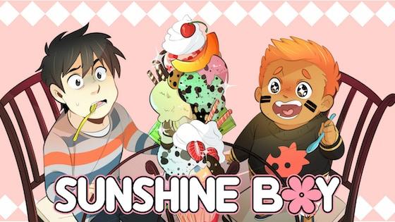 Sunshine Boy: Volume 1 Paperback by Moosopp