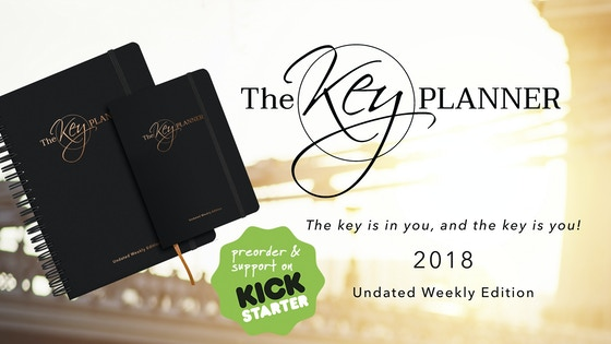 The Key Planner - turn your ideas into action!