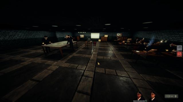 Headquarters scene