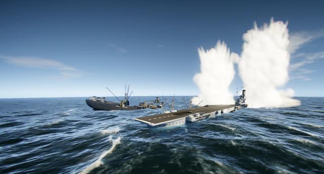 Torpedo impacts