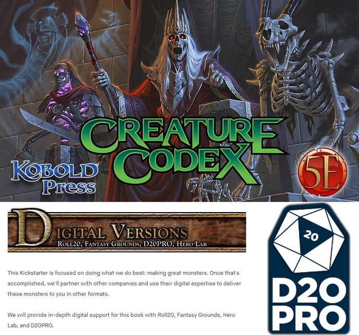 Project Updates for d20Pro Unlimited Virtual Tabletop on