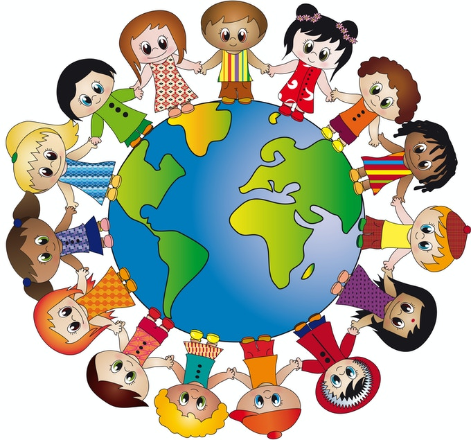 Children of the world (Image is not from the book)