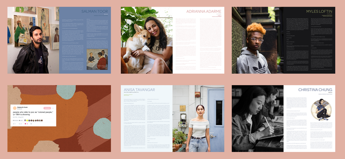 Featured: Salman Toor, Adrianna Adarme, Myles Loftin, Anisa Tavangar, & Christina Chung
