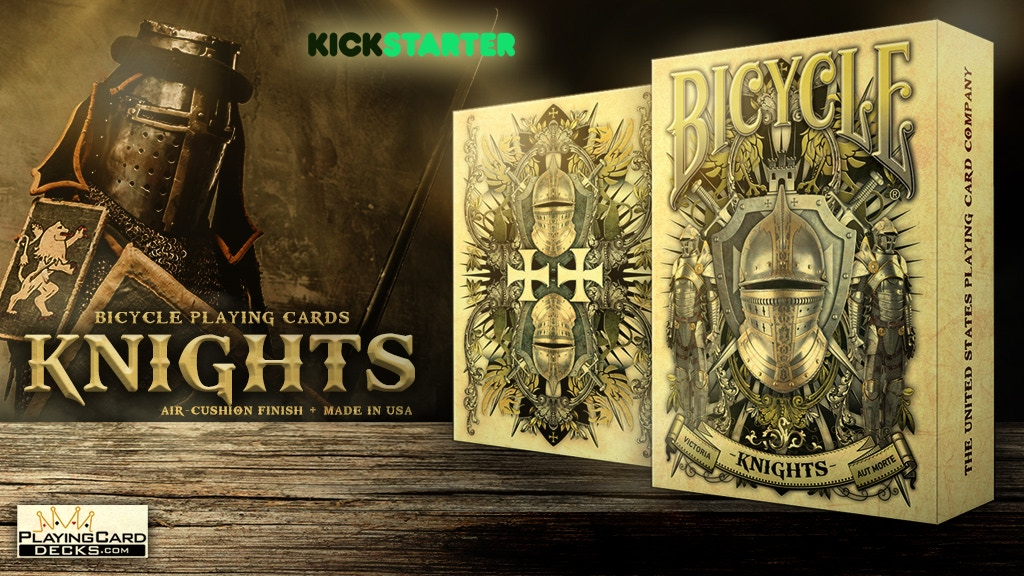 Knights Bicycle Playing Cards Poker Size Deck Custom Limited project video thumbnail