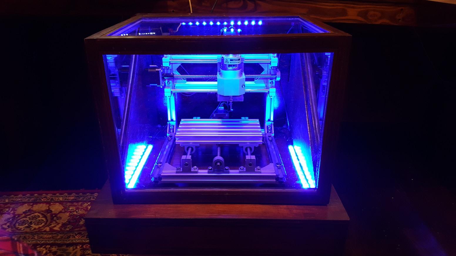 Ghost Pepper Desktop CNC by Robert Adrian — Kickstarter