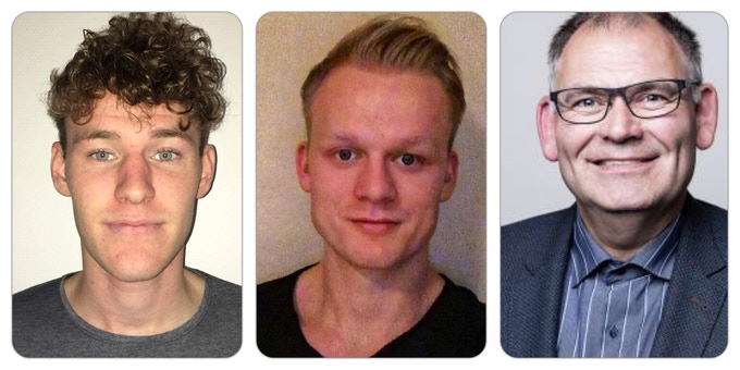 Left - (Co-Founder: Mathias Meyer) Middle -  (Co-Founder: Tobias Nicolajsen) Right - (Lars Holmberg)