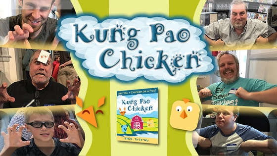 Kung Pao Chicken - A Secret Identity Card Game