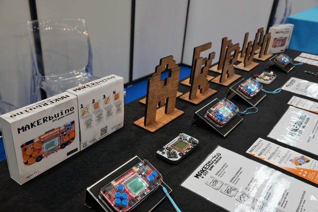Exhibiting MAKERbuino at Europe's largest Maker Faire - Maker Faire Rome