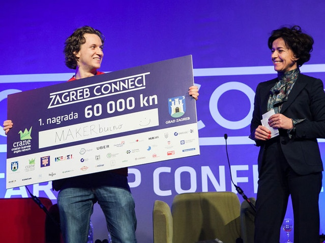 Zagreb Connect startup competition - 1st place