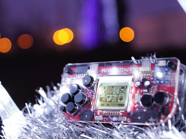 MAKERbuino team wishes you happy holidays!