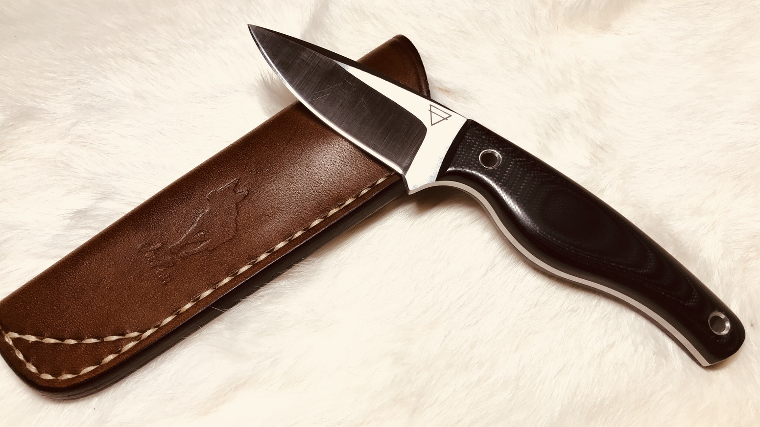 This is a knife made of one of the most extreme super steels available in knife making.