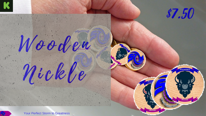 Commemorative Wooden Nickel