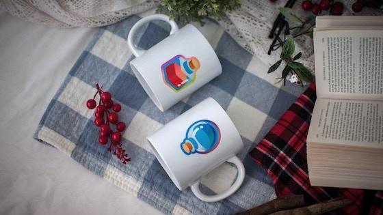 Health mug and mana mug