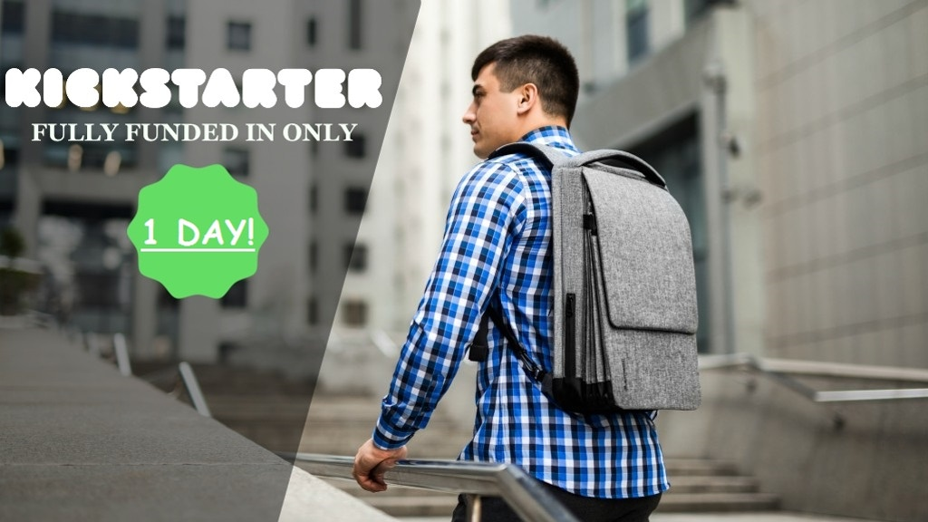 Pleatpack - The Most Functional Urban Tech Backpack Ever