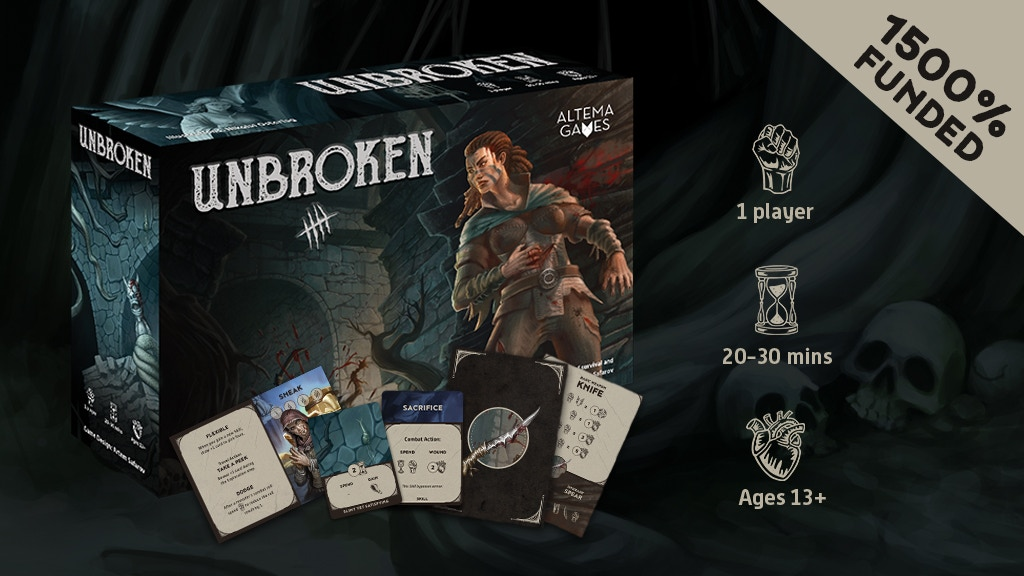 Unbroken: a solo game of survival and revenge
