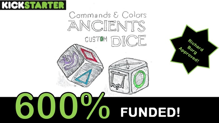 "Now listed on eBay! Search ""CCA Dice"" in eBay to find them. Custom made, high quality after market engraved dice for GMT's hit game Commands and Colors: Ancients (CCA)!"