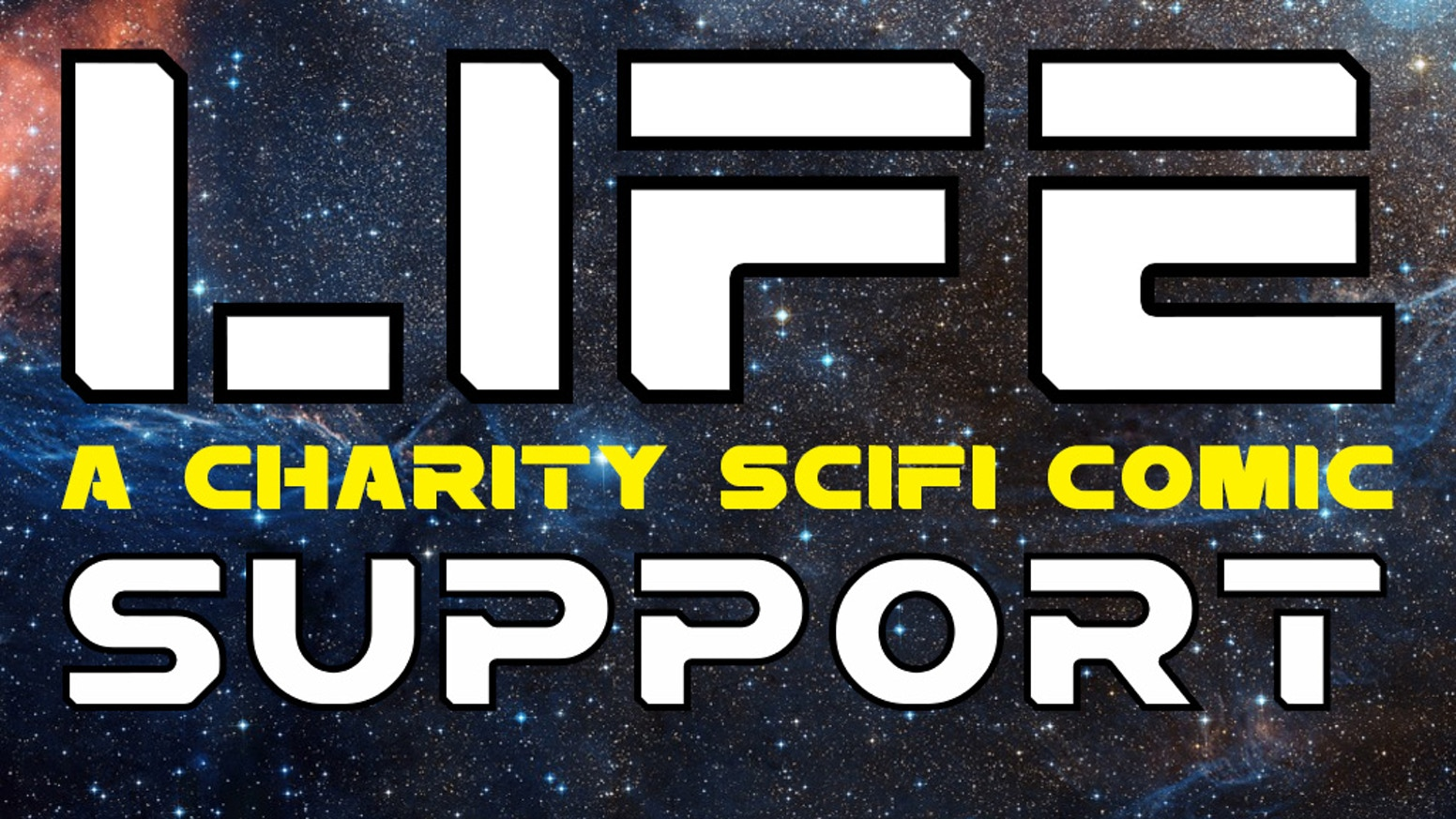 Help us print our SciFi comic which will be sold to raise funds for charity. Features the work of new and established comic creators.