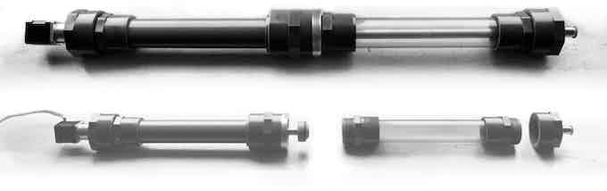 Powerful syringe pump