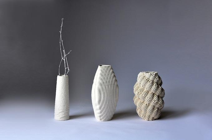 Porcelain printed with Ceramic 3D Printing KIT