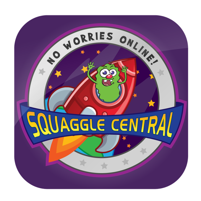 The icon for the Squaggle Central app