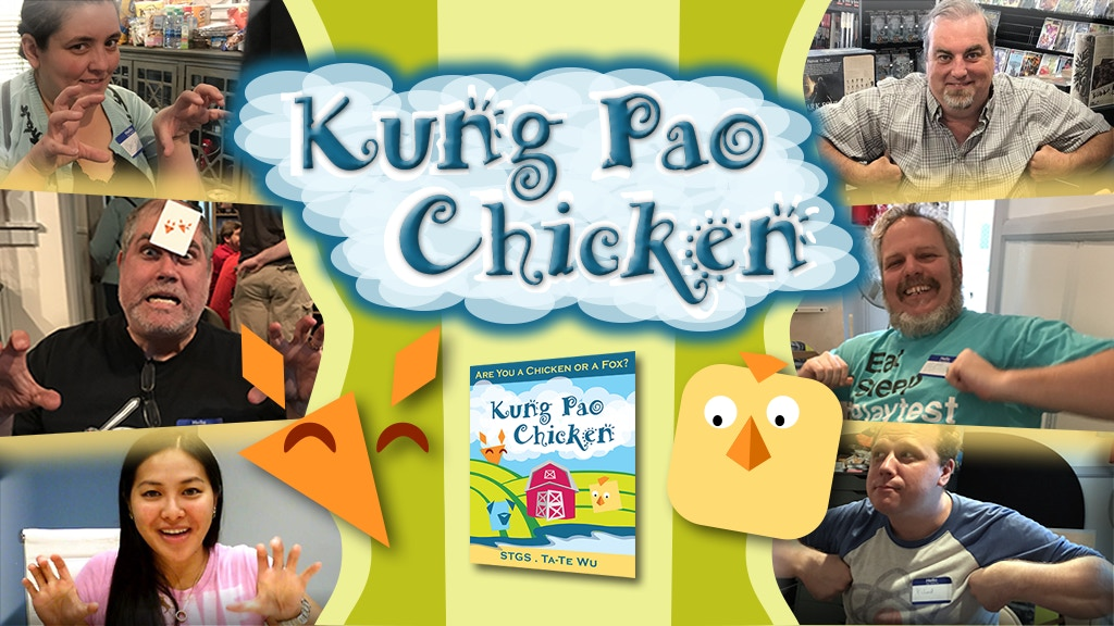 Kung Pao Chicken - A Secret Identity Card Game project video thumbnail