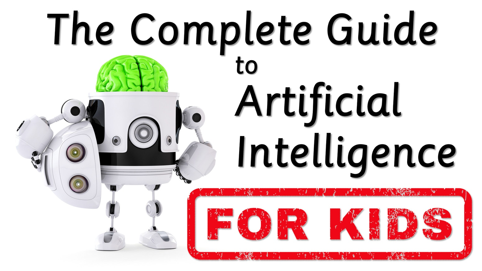Prepare kids for an AI-filled future with this full color illustrated guide to the key concepts in Artificial Intelligence.