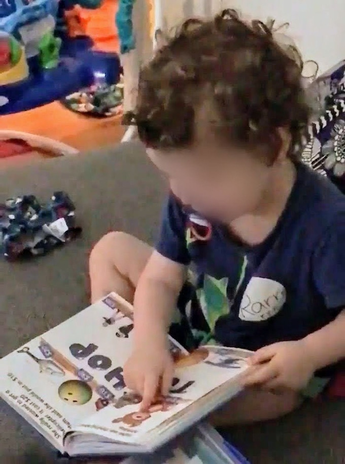 Kids read the previous Kickstarter STEM Storybook. NB: photo shows a previous title, the STEM Storybook, from our last Kickstarter campaign.
