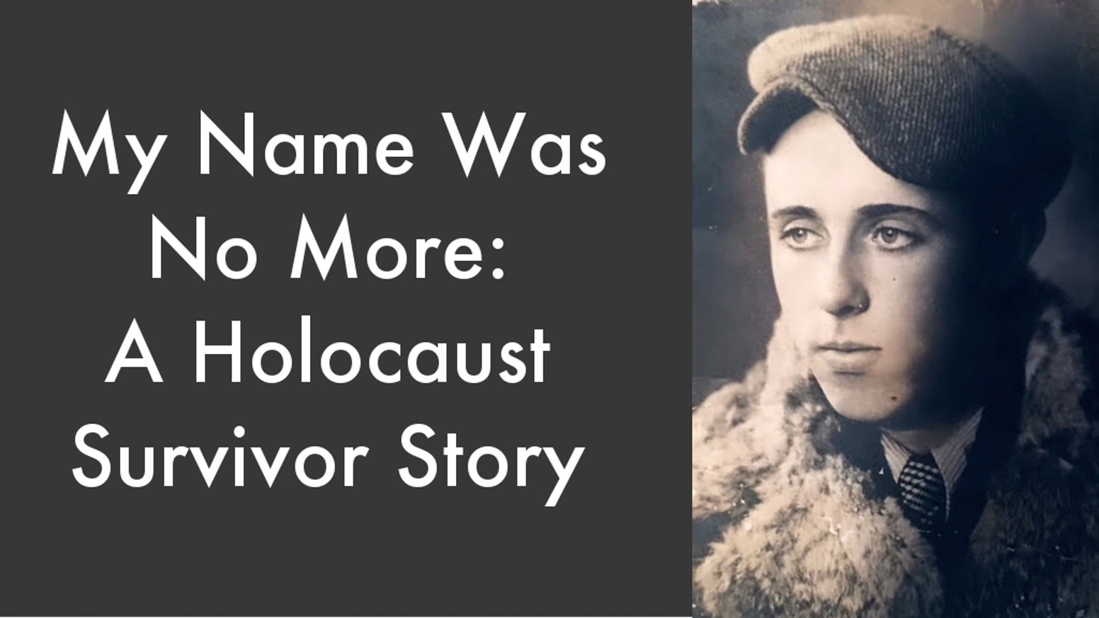 I'm writing a book and developing a podcast about my grandfather who survived the Holocaust. Thank you so much to my backers!!!