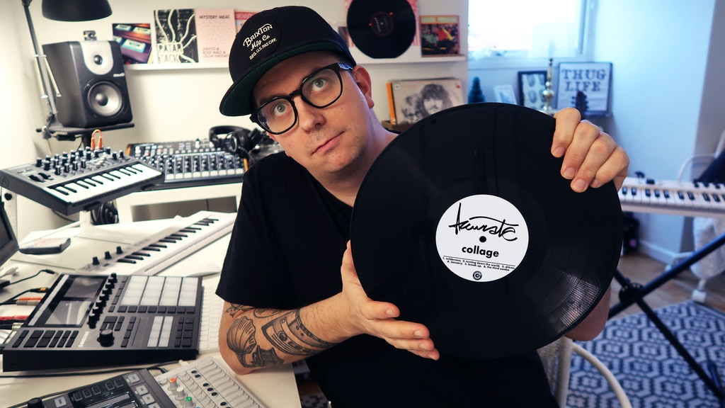 """Accurate Beats: My Album """"Collage"""" on Vinyl! project video thumbnail"""
