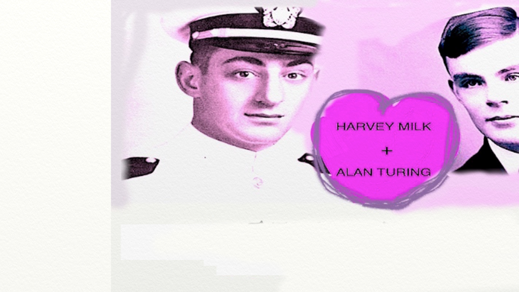 Harvey Milk and Alan Turing: A Fantasy LGBTQ Sci Fi Romance project video thumbnail