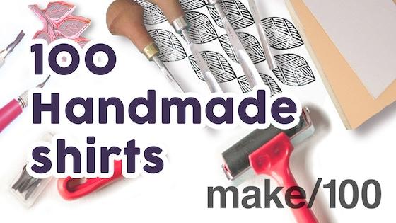 100 Handmade Custom Shirts