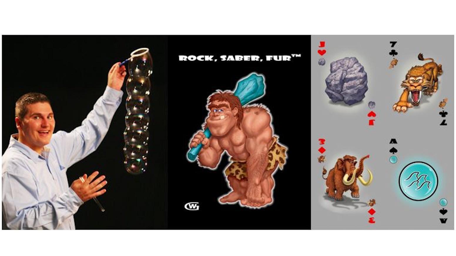 rock saber fur card gamejarom watts — kickstarter